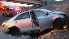 Toyota in suspected unintended acceleration crash