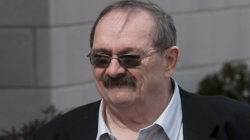 John Leonard MacKean arrives at court in Bridgewater, N.S. on Monday, March 17, 2014. (Mike Dembeck / THE CANADIAN PRESS)