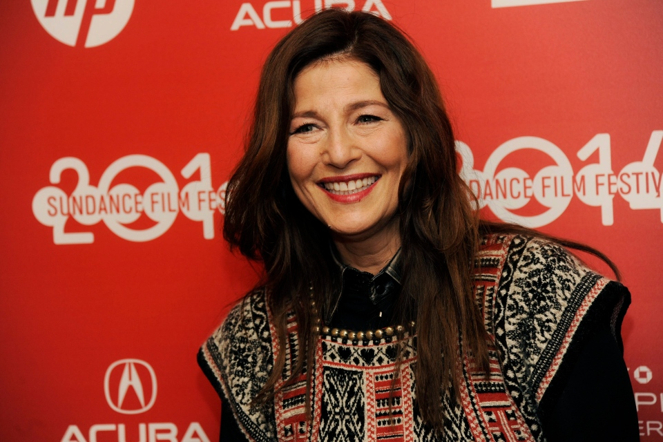 "Catherine Keener poses at the premiere of the film ""War Story"" at the 2014 Sundance Film Festival, Sunday, Jan. 19, 2014, in Park City, Utah. (Photo by Chris Pizzello/Invision/AP)"