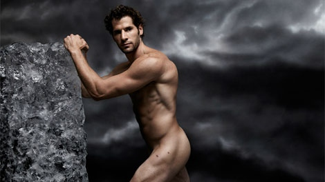 Canuck Ryan Kesler appears in ESPN Magazine's Body Issue. The magazine hits newsstands on Friday, Oct. 7, 2011. (ESPN)