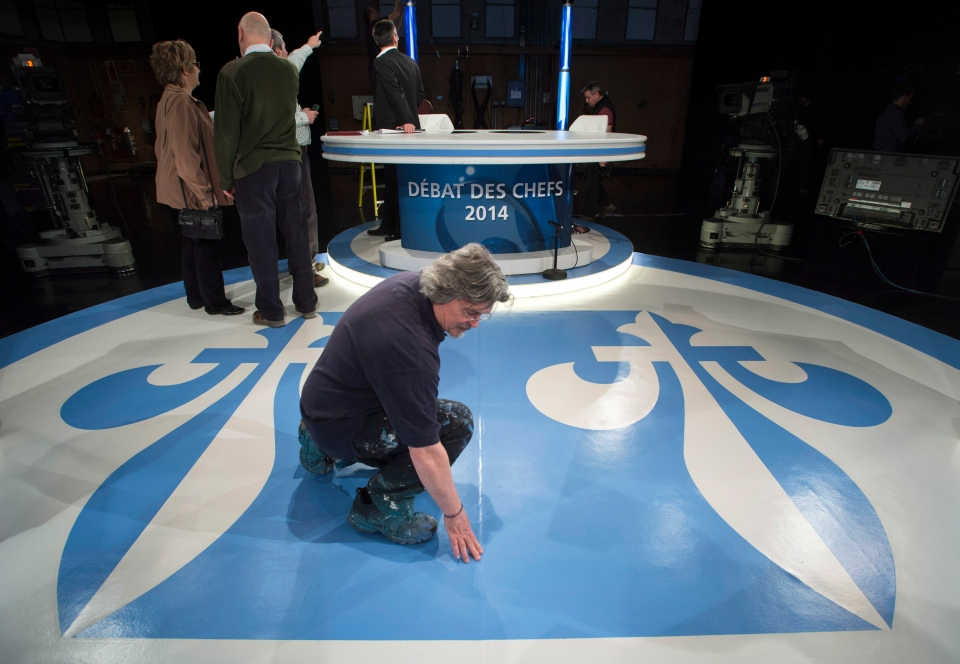 Quebec election debate preparations