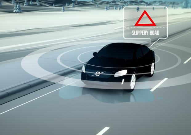 Car2Car Communication by Volvo