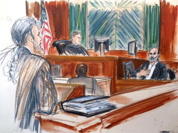 bin Laden's former son in law testifies