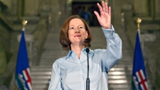 Alison Redford announces her resignation