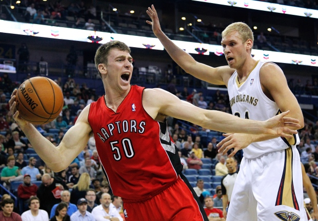 Raptors top Pelicans 107-100