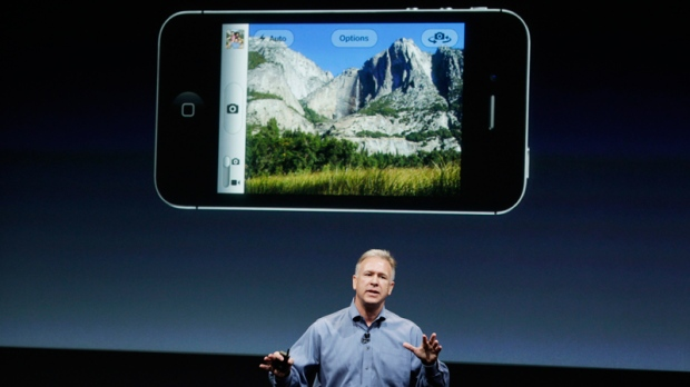 Apple stock falls after new iphone unveilings