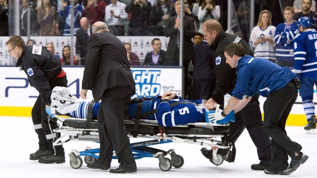 Toronto Maple Leafs' Paul Ranger