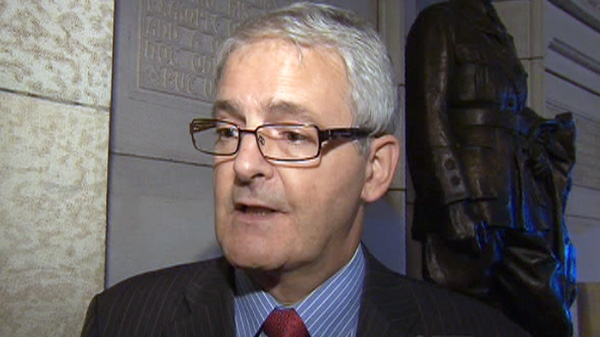 Liberal MP Marc Garneau speaks with CTV News in Ottawa in this undated photo.