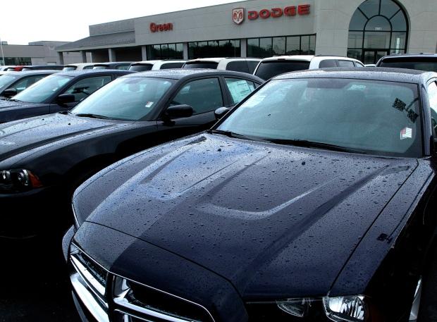 U.S. auto sales dealership
