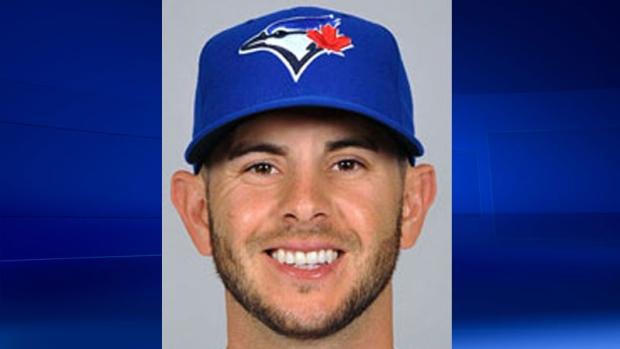 Blue Jays shortstop Jonathan Diaz