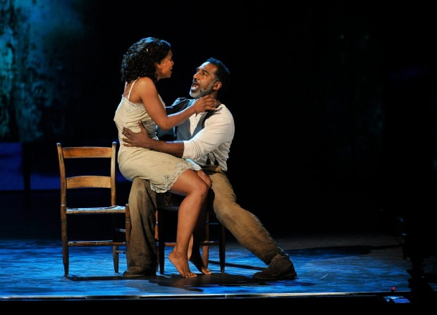 "Norm Lewis in ""Porgy and Bess"" at the Tony Awards"