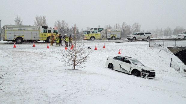 Airdrie, Airdrie crash, pond, City of Airdrie, Mai