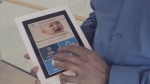 A still image from a YouTube video showing the Immunize Canada app.