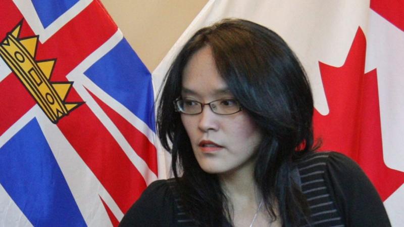 NDP MLA Jenny Kwan is seen at a Vancouver press conference on Nov. 27, 2009. (THE CANADIAN PRESS/Darryl Dyck)