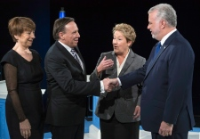 Quebec leaders participate in televised debate