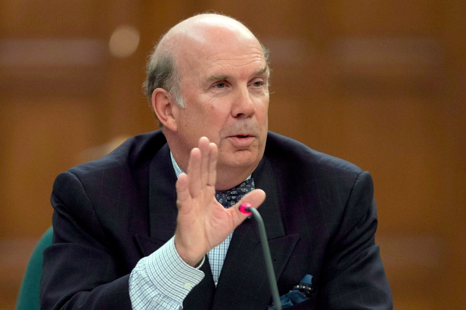 Justice Marc Nadon is pictured Oct. 2, 2013 in Ottawa. (The Canadian Press/Adrian Wyld)