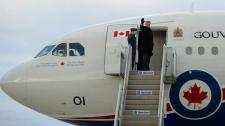 Prime Minister Stephen Harper leaves Ottawa