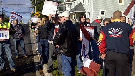 paramedics, protest