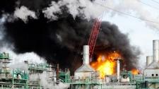 Several hurt in Regina oil refinery explosion