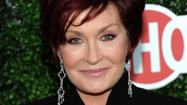 Sharon Osbourne arrives for a press tour party in Beverly Hills, Calif., July 28, 2010. (AP / Dan Steinberg)