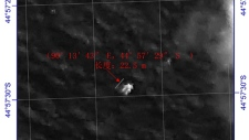 China spots object in search for missing plane