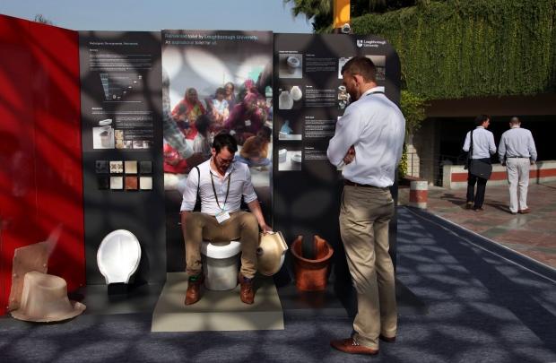 Toilet tech