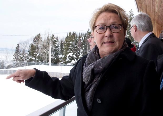 Pauline Marois - March 22, 2014
