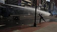 Clashes in Caracas, Venezuela