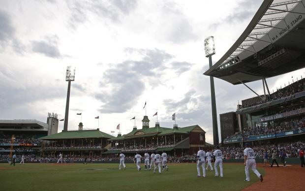 Australia baseball proves popular