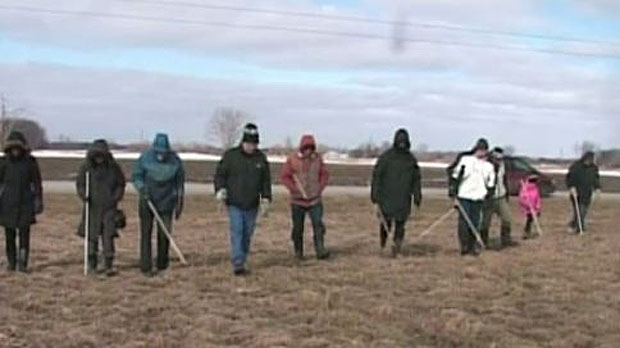 A search is under way for a meteorite believed to have landed near St. Thomas, Ontario. March 23, 2014