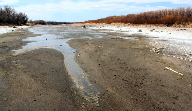 Drying stream - climate change