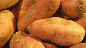 Yams are seen in this undated file photo.