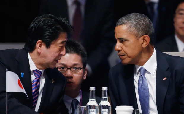 U.S. and Japanese leaders speak at nuclear summit