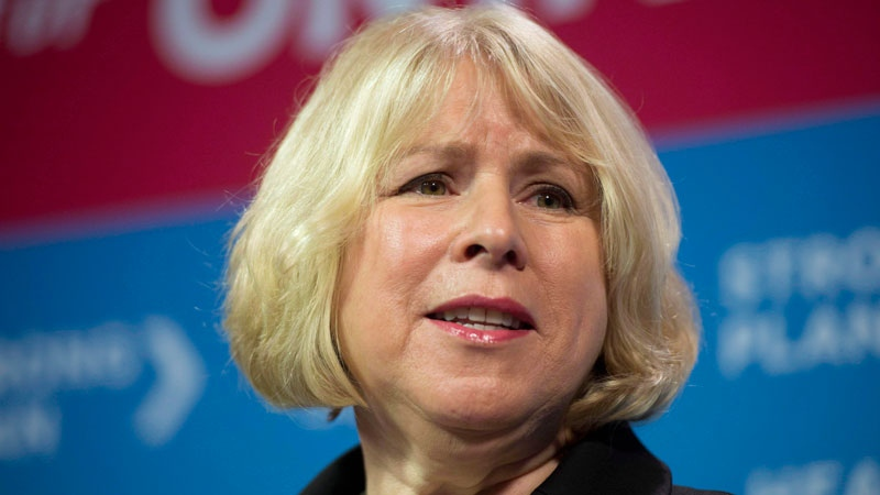 Ontario Health Minister Deb Matthews speaks at a news conference in Toronto on Monday, December 10, 2012. (Frank Gunn / THE CANADIAN PRESS)
