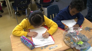 The EQAO says that this year only 50 per cent of Grade 6 students met the math standard, compared to 58 per cent in 2012.