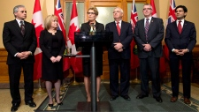 Ontario Premier Wynne makes cabinet shuffle