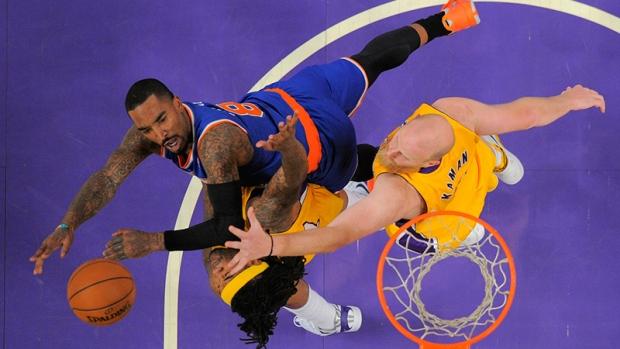 New York Knicks guard J.R. Smith