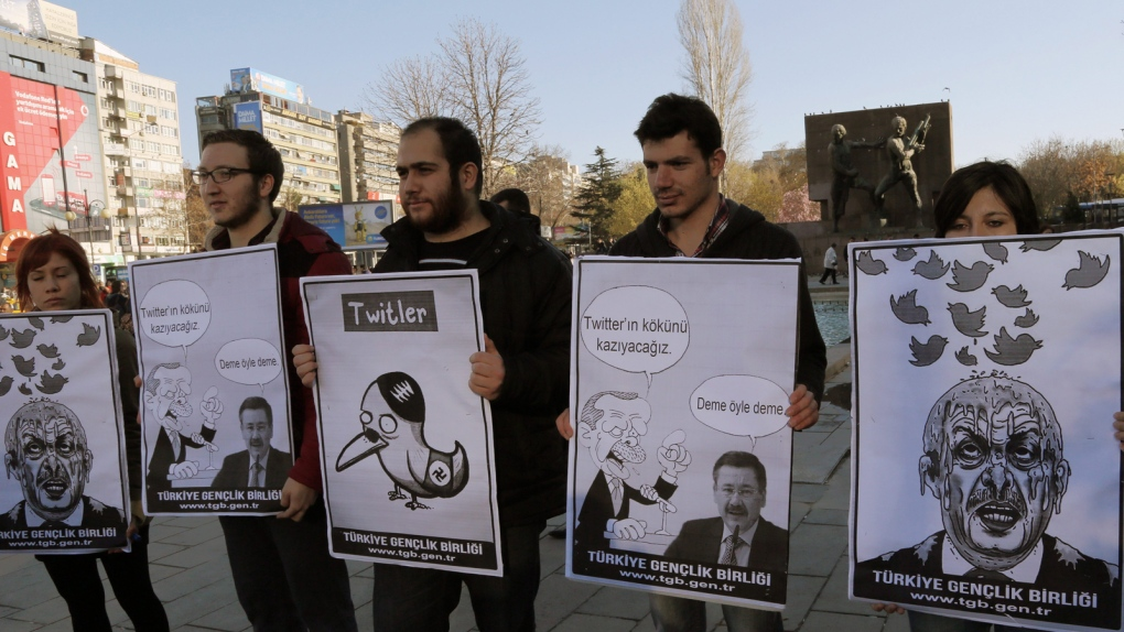 Turkish Twitter ban put on hold: report