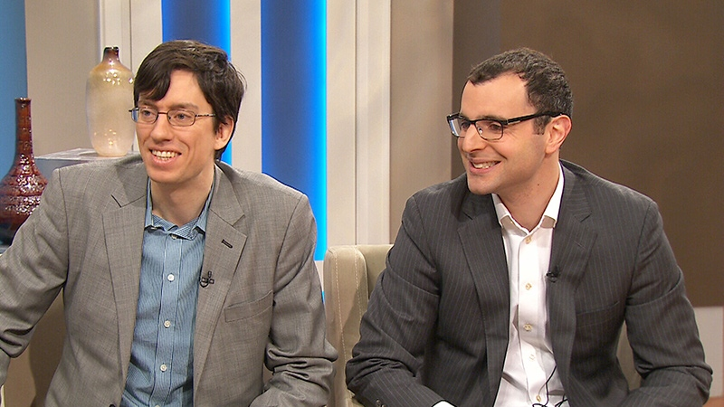 Aspire Food Group's Gabe Molt and Jesse Pearlstein appear on Canada AM.