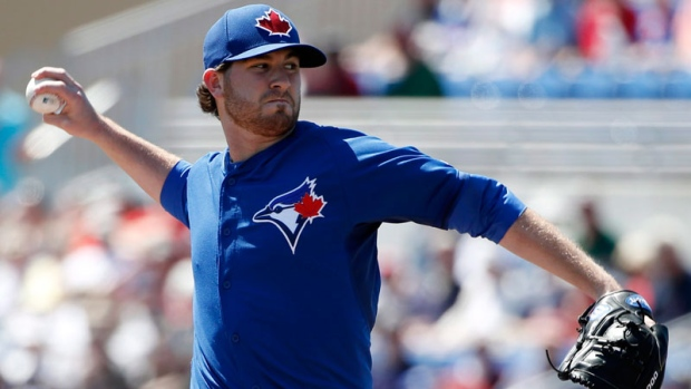 Drew Hutchison wins spot in Blue Jays rotation