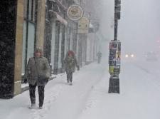 Winter storm hammers Atlantic Canada