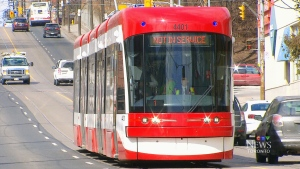CTV Toronto: New streetcars on TTC routes
