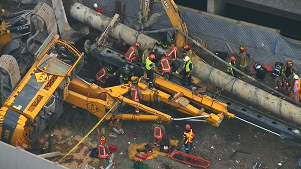 Companies Charged In Fatal Crane Collapse At Site Of New