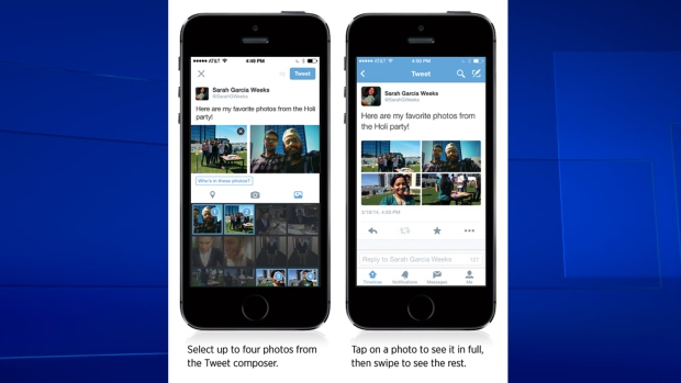 Twitter adds photo sharing features