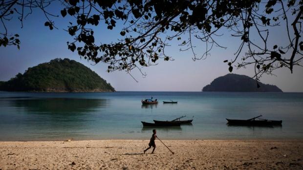 Island 115 in Mergui Archipelago, Myanmar