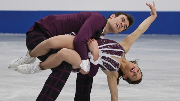 Meagan Duhamel and Eric Radford of Canada