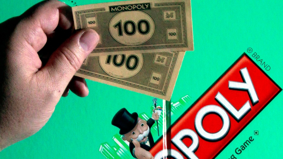 This April 13, 2011 file photo, shows a MONOPOLY Property Trading Game, in Portland, Ore. (AP / Rick Bowmer, File)