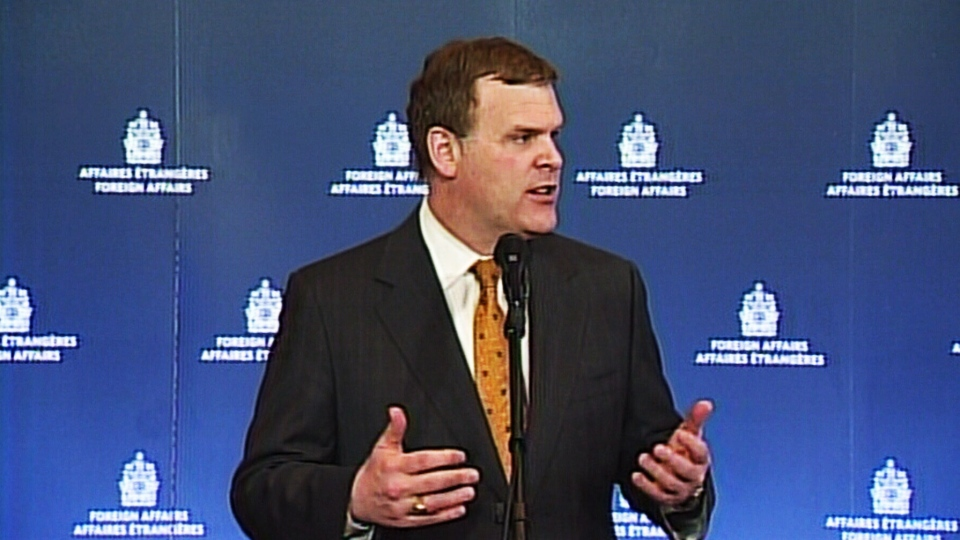 Foreign Affairs Minister John Baird said European nations' dependency on Russian energy imports is another reason why Canada needs to move ahead with construction of oil and gas pipelines on Thursday, March 27, 2014.