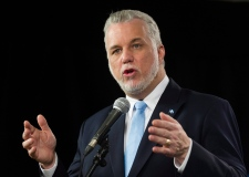 Philippe Couillard after leaders debate