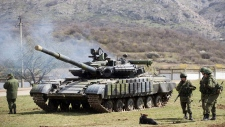 Russia agrees to weapons turnover in Ukraine